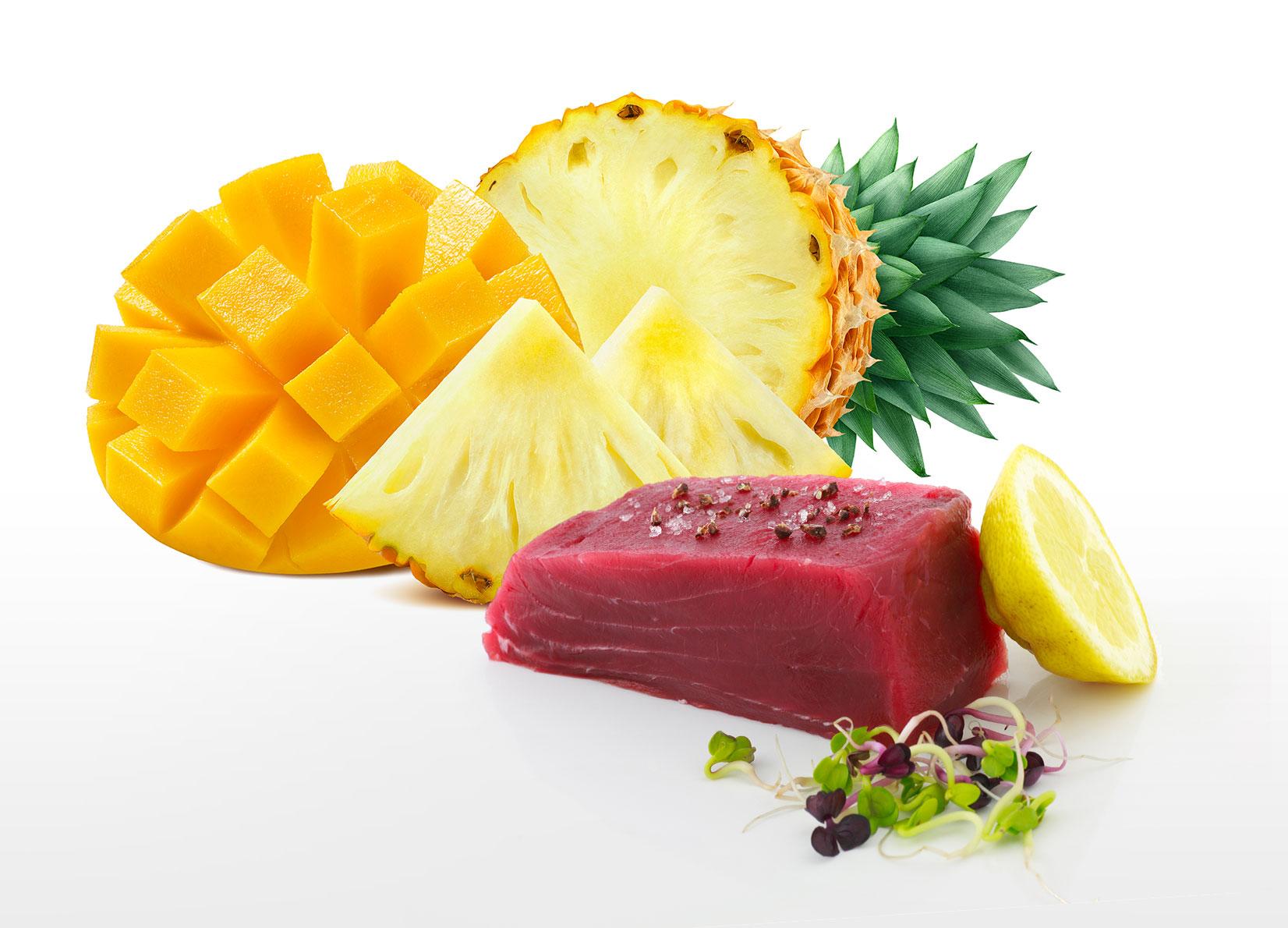 food consigli insalata tonno ananas