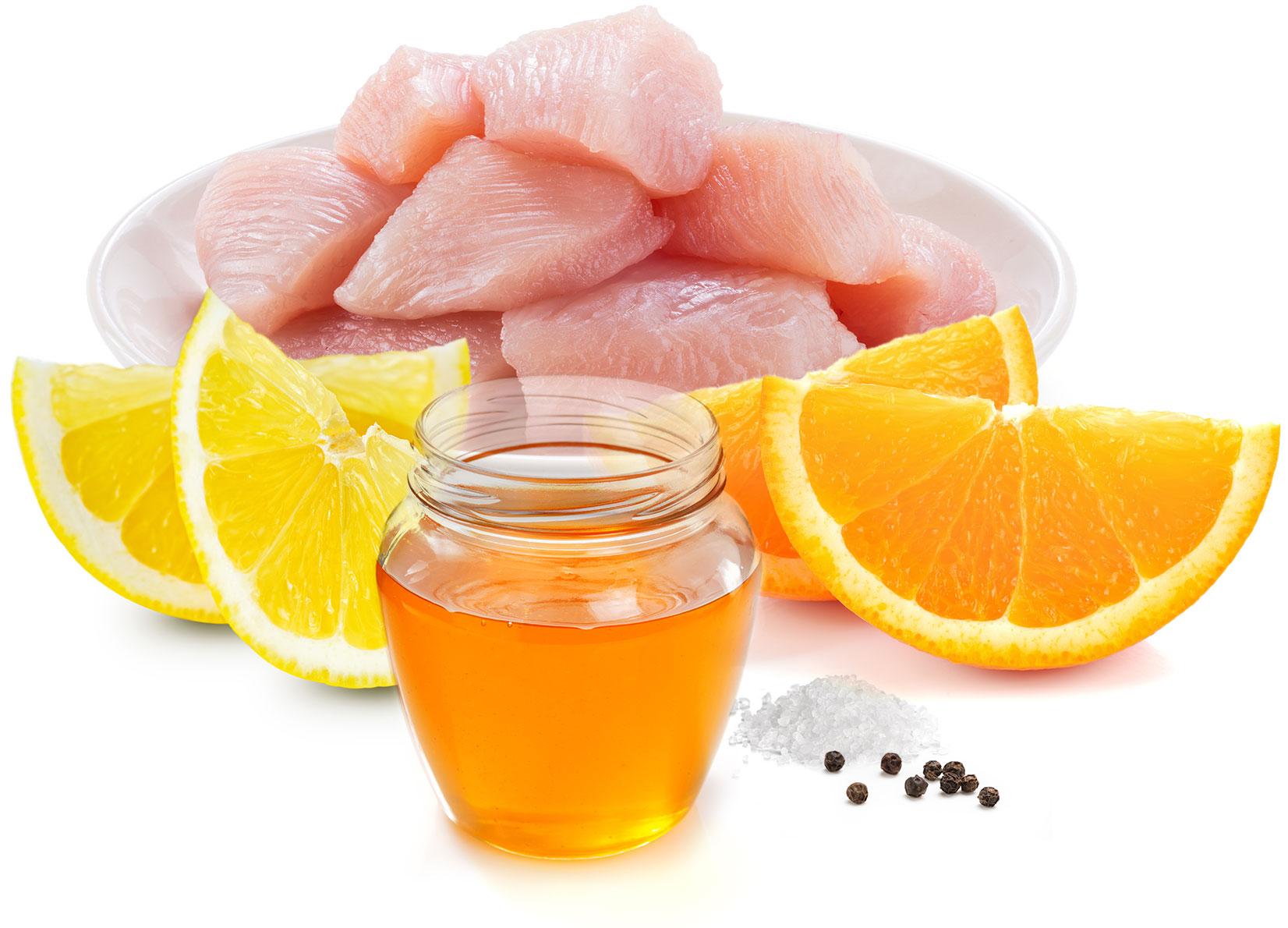Food lunch idee ricette pollo limone straccetti